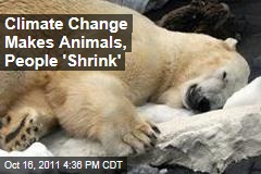 Climate Change Makes Animals, People 'Shrink'