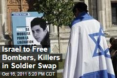 Israel Reveals Names of in Prisoner Exchange for Gilad Shalit