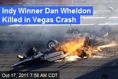 Indy Winner Dan Wheldon Killed in Vegas Crash