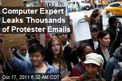 Computer Expert Leaks Thousands of Protester Emails