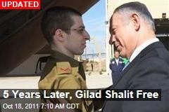 Gilad Shalit Freed as Hamas Prisoner Exchange Begins