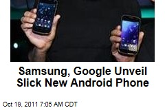 Samsung, Google Unveil Galaxy Nexus Smartphone Running Android Ice Cream Sandwich