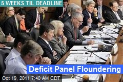 Deficit Panel Floundering