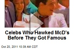 Celebs Who Hawked McD's Before They Got Famous