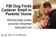 FBI Cadaver Dog Finds Cadaver Smell in Bradley Missing Baby Case