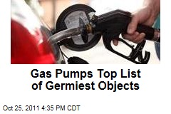Gas Pumps and Mailbox Handles Top Most-Contaminated List