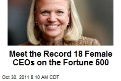 Meet the Record 18 Female CEOs on the Fortune 500