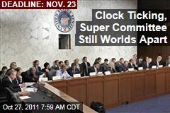 Super Committee Republicans, Democrats Not Even Close