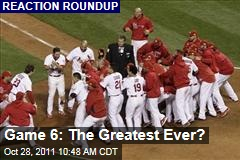 World Series Game 6: Sportswriters React to Epic St. Louis Cardinals-Texas Rangers Game