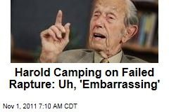 Harold Camping: Failed Raptures 'Embarrassing' for Family Radio