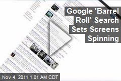 Google 'Barrel Roll' Search Sets Screens Spinning