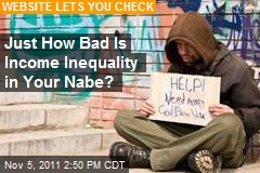 Just How Bad Is Income Inequality in Your Nabe?