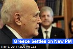 Greece Settles on New PM