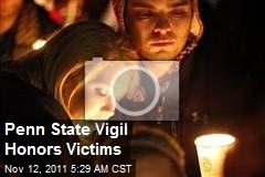 Penn State Vigil Honors Alleged Victims