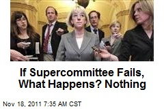 If Supercommittee Fails, What Happens? Nothing