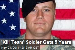 'Kill Team' Soldier Gets 5 Years