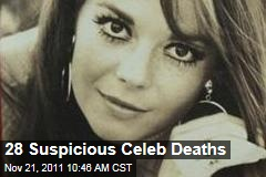Natalie Wood and 27 More Suspicious Celebrity Deaths