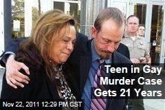 Larry King Murder: Brandon McInerney Gets 21 Years in Plea Deal