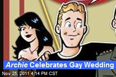 Archie Celebrates Gay Wedding