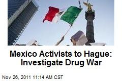 Mexico Activists to Hague: Investigate Drug War
