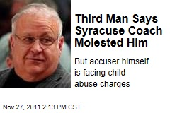 Third Accuser: Syracuse Basketball Coach Bernie Fine Molested Me