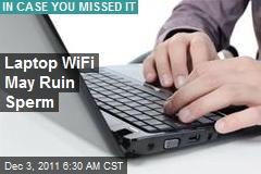 Laptop WiFi May Ruin Sperm