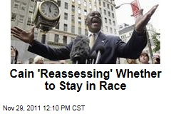 Herman Cain Tells Supporters He Is Rethinking His Candidacy