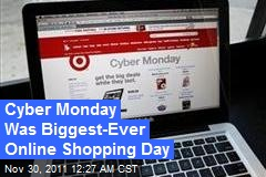 Cyber Monday Was Biggest-Ever Online Shopping Day