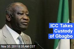 Laurent Gbagbo Taken Into Custody by International Criminal Court