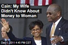 Herman Cain Tells Newspaper His Wife Didn't Know He Was Giving Money to Ginger White