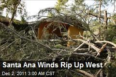 80 mph Winds Rip Up West