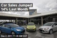 Chrysler, Volkswagen Sales Surge as Car Sales Hit 2-Year High