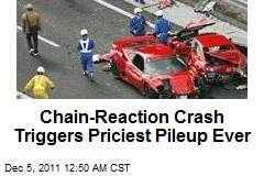 Chain-Reaction Crash Triggers Priciest Pileup Ever