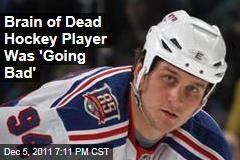Hockey Player Derek Boogard Had Advanced Brain Damage
