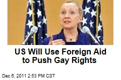 President Obama Directs US Foreign Aid to Back Gay Rights