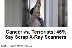Cancer vs. Terrorists: 46% Say Scrap X-Ray Scanners