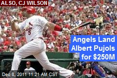 Angels Land Albert Pujols for $250M