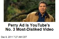 As Spoofs Abound, Perry Ad Racks Up 'Dislikes'