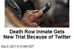Death Row Inmate Erickson Dimas-Martinez Gets New Trial Because of Twitter