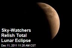 Sky-Watchers Enjoy Total Lunar Eclipse