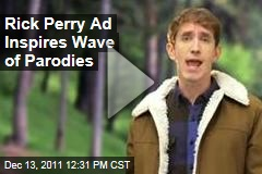Rick Perry's 'Strong' Campaign Ad Inspires Wave of Parodies