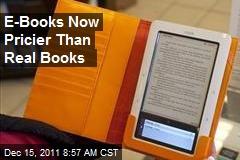 E-Books Now Pricier Than Real Books