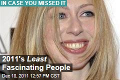 Chelsea Clinton, Meghan McCain, Oprah Winfrey, and More of the Year's Least Fascinating People