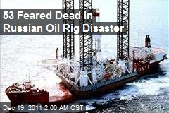 Russian Oil Platform Sinks While Being Towed