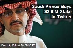 Saudi Prince Alwaleed bin Talal Buys $300M Stake in Twitter