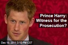 Prince Harry May Testify in Case of Stolen Cell Phone