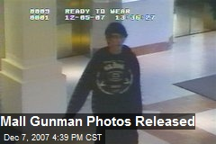 Mall Gunman Photos Released