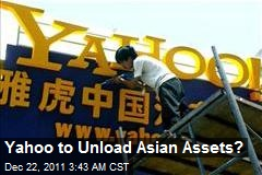 Yahoo Eyes Selling Asian Assets