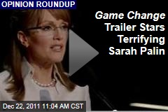 VIDEO: HBO 'Game Change' Teaser Trailer Features Absolutely Terrifying Sarah Palin, Played by Julianne Moore