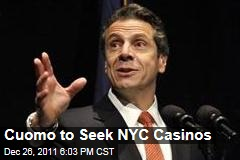 New York Governor Andrew Cuomo to Seek Legalized Casinos